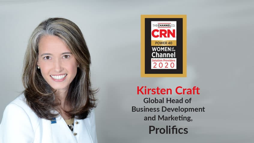 Prolifics' Kirsten Craft Recognized by CRN